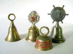 mini brass bells