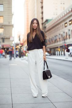Wide Leg Pants in Union Square - Song of Style