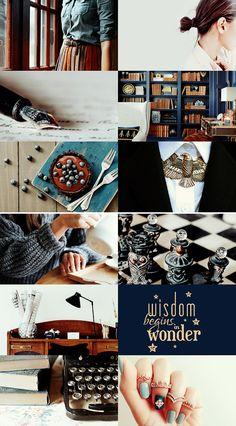 Modern Hogwarts Founders | Rowena Ravenclaw #hp