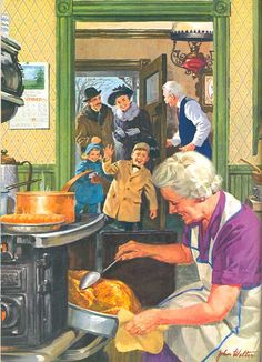 POSTCARDY: the postcard explorer: VTT - Thanksgiving Ideals