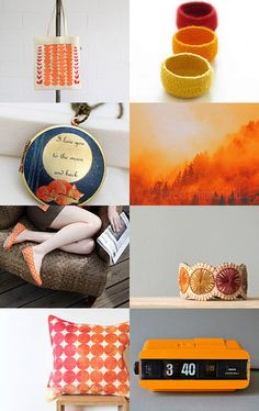Orange you glad its fall? by Claire --Pinned with TreasuryPin.com