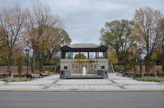 Parc Morgan, par l'arrondissement de Mercier-Hochelaga-Maisonneuve, Montréal, Québec