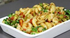 Vegetable Macaroni Indian style - http://bigsrecipe.com/vegetable-macaroni-indian-style/