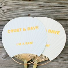 This double-duty program is a sweet choice for summertime brides.Photo Credit: Keepsake Memories Photography