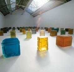 Rachel Whiteread. One Hundred Spaces