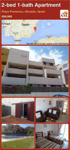 2-bed 1-bath Apartment in Playa Flamenca, Alicante, Spain ►€89,995 #PropertyForSaleInSpain