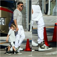 Ricky Martin's Givenchy Camouflage Sneakers - Miami Street Style