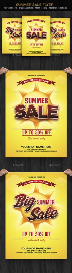 Bazaar Sale Flyer Flyer template, Psd templates and Font logo - For Sale Ad Template