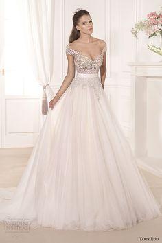 tarik ediz 2014 bridal collection off the shoulder sweetheart a line wedding dress gul