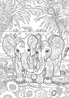 New Coloring Books - √ 32 New Coloring Books , Free Printable New Years Coloring Pages for Kids Elephant Coloring Page, Animal Coloring Pages, Coloring Pages To Print, Free Coloring Pages, Coloring Books, Coloring Pages For Adults, Colouring In Sheets, Colouring Pages For Kids, Elephant Colour