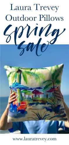 Shop Outdoor Pillows and take 20% off order with code HAPPY