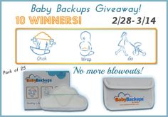 Housewife on a Mission: BabyBackups Giveaway {10 Winners}!