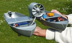 Two Hulls on a 3D Printed RC Boat - 3D Printing Industry w/Video
