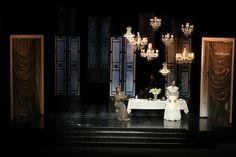 Vanessa (Samuel Barber) from L'Opéra-Théâtre de Metz-Métropole 2014. Production by Bérénice Collet. Sets by Christophe Ouvrard.
