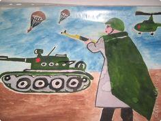 День Победы Рисование и живопись Рисунки ко Дню Победы Акварель фото 1