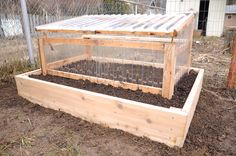 Extend your garden season with a hand built cedar cold-frame. Built from hardy western red cedar and corrugated polycarbonate, they are rot resistant, UV and impact resistant, and 90% of light transmission.