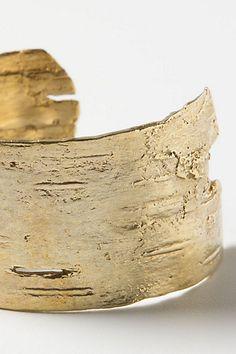 Golden Birch Cuff