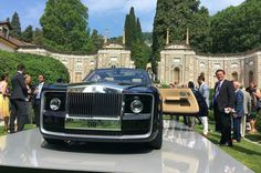 The most expensive car Rolls Royce Sweptail