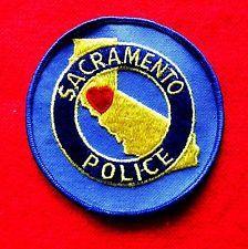 Sacramento Police Patch Obsolete California