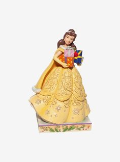Disney Beauty and the Beast Holiday Belle Figure