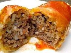 Cabbage Rolls on Just A Pinch