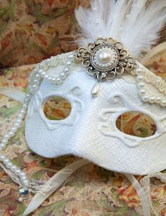 Romantic Bridal Mask $70