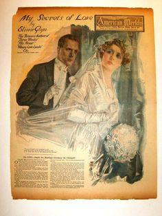 Kittyinva@Tumblr: July, 1920 American Weekly cover.