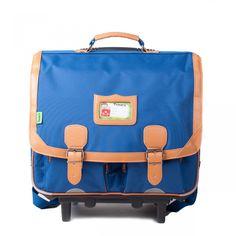 Cartable à roulettes - 41cm Classic - SCOLAIRE Bleu Tann's |Bemon