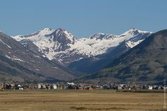 The beautiful town of Crested Butte Colorado