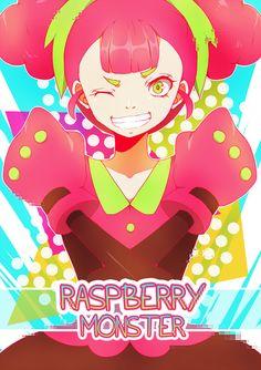 Raspberry monster