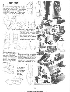 Drawing Tutorial - Movement - Feet