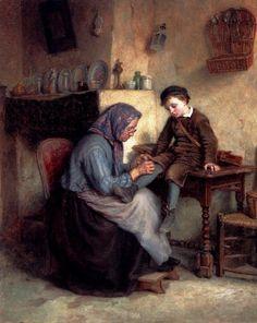 Edouard Frere ~ Worn Through