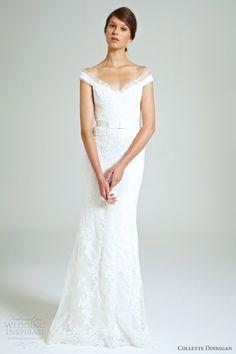 collette dinnigan bridal 2014 magical wonderland mirabella off shoulder lace gown
