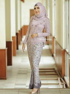 Kebaya Modern Hijab, Model Kebaya Modern, Kebaya Hijab, Kebaya Dress, Kebaya Muslim, Muslim Fashion, Hijab Fashion, Fashion Dresses, Hijab Dress Party