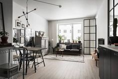 my scandinavian home: A small space full of light in Stockholm