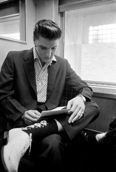 Elvis Presley, 1956 , Photo; A.Wertheimer