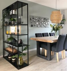 32 Exclusive and Personalized Dining Room Interior Design Interior Design Living Room Modern, Industrial Livingroom, Home Decor, House Interior, Apartment Decor, Interior Design, Living Decor, Living Design, Living Room Designs