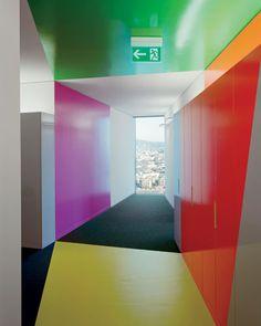 Prime Tower Gigon Guyer, Zurich, Garage, Tower, Construction, House Design, Interiors, Spaces, Architecture
