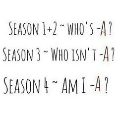 """These summaries of each season: 