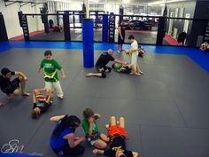 We have good facilities for kinds for self defense training. #kids_martial_art #good_trainers