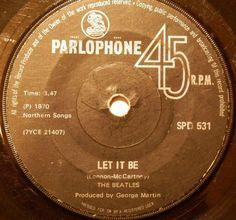 Rare Records, 45 Records, Vinyl Records, George Martin, Ringo Starr, My Favorite Music, Paul Mccartney, John Lennon, The Beatles