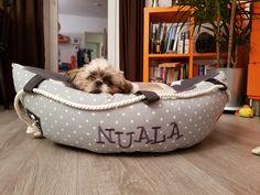 Hundebett Boot / dog bed sailing boat