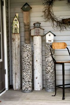 DIY garden projects with rocks are an affordable and unique way to decorate your outdoor space. See the best ideas and designs and get inspired!  #LandscapingandOutdoorSpaces