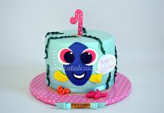 Torta Dory per il Primo Compleanno | | Fate di Zucchero - Cake Designers