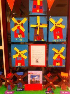 Molens Nederland Trunk Or Treat, Le Moulin, Art School, Art Lessons, Elementary Schools, Montessori, Netherlands, Stage, Crafts
