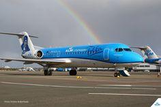 Após quase 100 anos de parceria, KLM se despede do seu último Fokker - AEROIN