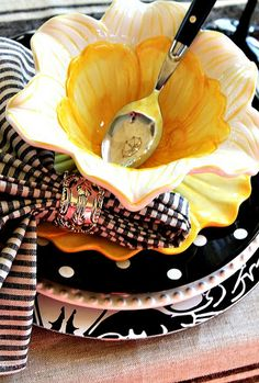 When using black and lemon yellow make sure the textures and patterns are different as well.