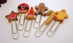 Christmas Stationary #Christmas #Stationary #Bookmarks http://www.trendhunter.com
