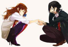 Horimiya - Izumi and Kyoko