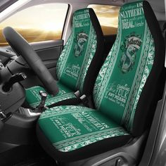 Harry Potter - Slytherin - Car Seat Covers